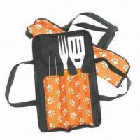 Quality Barbecue Tool Set, Includes Spatula and Fork for sale