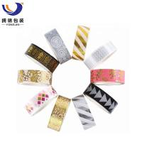 Quality 1 inch Wide Decoration washi masking colorful washi tape for sale