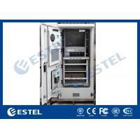 China 19 Inch Rack Outdoor Power Cabinet Waterproof and dustproof IP55 for sale