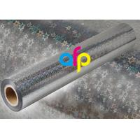 Quality Holographic Metalized BOPP Film, BOPP Transparent Film Roll For Packing for sale