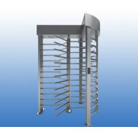 Buy Automatic Full Height Turnstile Gate 304 SUS Single Lane 120 Degree Rotation at wholesale prices