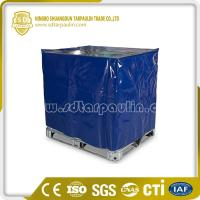 Quality Polyester Tarp Ground Cover Industrial Cover Pallet Cover for sale