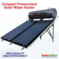 Quality Automatic Flat Plate Solar Water Heater Directed Thermosyphon Circulation Type for sale