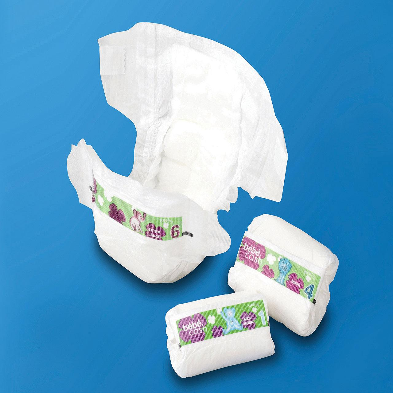 China disposable baby nappy on sale