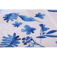 Quality Digital Inkjet Printing / Cotton Canvas Fabric With Beautiful Pattern for sale