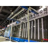 China CE / UL Window Double Glass Machine Vertical Flat Pressing Production Line on sale