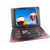 Quality 12 inch portable DVD player with radio,game and support USB / SD/ MMC for sale