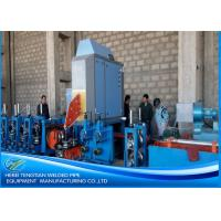 Quality Galvanised Steel Square Tube Mill3.0mm Thick PLC Control Automatic Function for sale
