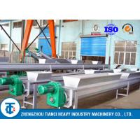Quality Stainless Steel Fertilizer Belt Conveyor Spiral Screw Type Fertilizer Feeding Use for sale