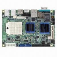 Quality 3.5-inch Embedded SBC with AMD Turion 64, Mobile Sempron, and AMD M690E/SB600 Chipset for sale