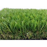 Buy cheap UV Resistance Artificial Grass Landscaping For Relax Flat Yarn Shape from wholesalers