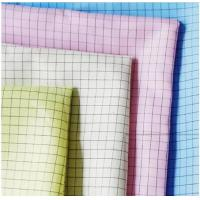 Quality Twill Cleanroom Antistatic ESD Fabric 5mm Grid Cloth For Industry Wokerwear for sale