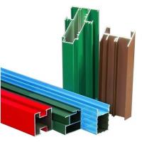Quality Non-insulated T4 Exterior Aluminum Sliding Window Frame Extrusion Profiles With Milling , Drilling for sale