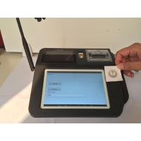 Quality 7 Inch Android NFC POS Terminal , Barcode Scanning NFC Credit Card Payment Systems for sale