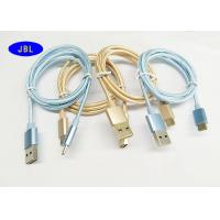 Quality Android Smart Phone Fully Reversible USB A M To Type C OTG Cable Braided Fabric for sale