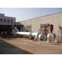 Quality 1100KG 1-1.5T/H Wood Rotary Drum Drier Thickened Iron Plate L2.1*W1.8*H1.95 M for sale