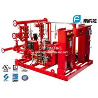 Quality 400GPM NFPA20 Fire Fighting Pump System 277 Feet For Residential / Industrial for sale