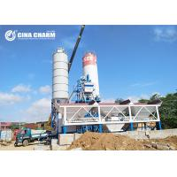 Quality Fully Automatic Hzs50 Concrete Batching Plant , Skip Hopper Belt Type Concrete Batching Plant for sale