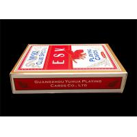 Quality Custom Full Color Casino Playing Cards with CMYK / PMS Offset Printing for sale