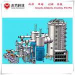 Quality Arc Evaporation Vacuum Glass Coating Machine, Amber Color, Claret Glassware Arc Plating Machine for sale