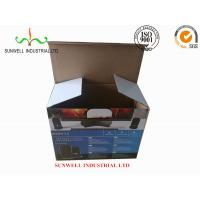 Quality K9 Reinforced Electronics Product Packaging Boxes Spot UV Finished Varnish Film for sale