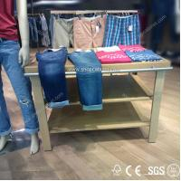 Quality metal clothes display shelf for sale