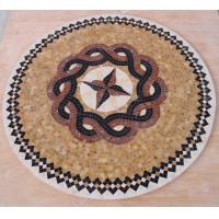Quality Mosaic marble medallion mosaic pattern for Table & Hall Tile for sale