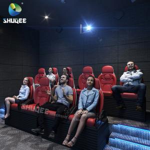 Quality Luxury 4D 5D 6D 7D XD Cinema Electric Movie Theater Motion Seats Amusment Park for sale