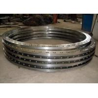 Buy cheap Hot rolled carbon steel flat welding flange for pipe and tube end from wholesalers