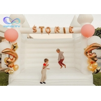 Buy cheap Inflatable Wedding Bouncy Castle Inflatable Jumping Castle from wholesalers