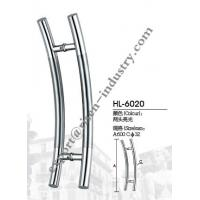 Quality Stainless steel door handle HL6020, dia32 X 600 for sale