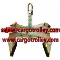 Quality Stone scissor clamps features and applications for sale