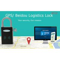 Quality Wifi Padlock GPS Padlock For Container , Zinc Alloy Logistic Fleet Management GPS Tracker for sale