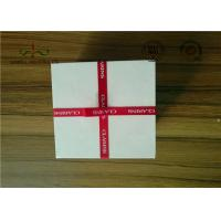 Quality Delicate Ribbon Bow Attached Color Cosmetic Packaging Boxes Square Shape for sale