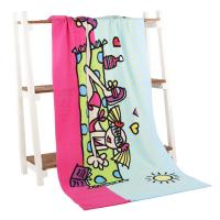 Quality Premium Carton lovely girl printed beach towels / size 100*180cm for sale