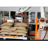 Quality Automatic Robotic Palletizer For Logsitics System / FMCG / Food Beverage for sale