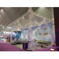 Quality Exhibtion Booth Or Stage Lighting Truss , 290mm or 300mm Aluminum Square Bolt Truss for sale