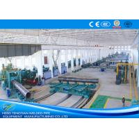 Quality Heavy Duty Spiral Welded Pipe Mill , Custom Welding Pipe Machine N80 Grade for sale