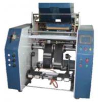 Quality Roll Changing Stretch Film Slitting Rewinding Machine , Synchronous belt transfer for sale