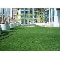 Quality PE Made Commercial Artificial Grass Smooth Feeling Soft Touch For Roof And Exhibition for sale
