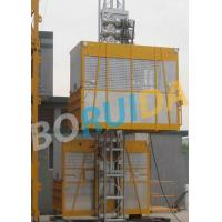Quality Ramp Door Style Construction Material Lifting Hoist , Construction Lifting Equipment for sale