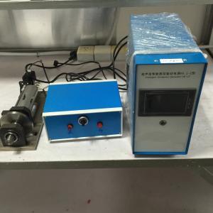 China 1000W Ultrasonic Sealing Machine with Ultrasonic Longitudinal Vibration transducer on sale