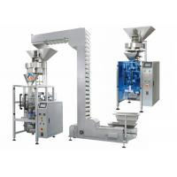 Quality Food Granule Packing Machine 500g - 3000g Each Bag Z Type Hoist SS Material for sale