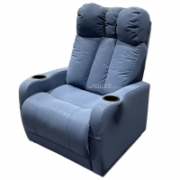 Quality Synthetic Leather Home Theater Seating VIP Sofa With Electric Pedal for sale