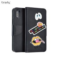 China Iphone X PU Leather Wallet Case on sale