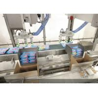 Quality Fully Automatic Case Packer Machine For Aerosol Can / Tin Can Encasing for sale