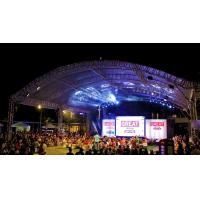 Quality High Load Silver Modern And Strong Aluminum Stage Truss System 12m Length For Outside Show Events for sale