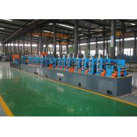 Quality High Precision ERW Tube Mill / Straight Seam Welded ERW Pipe Mill Machine for sale
