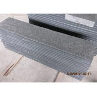 Quality Flamed Black Pearl  Natural Stone Steps For Yard G684 Black Granite Material for sale