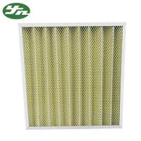 Quality Folded Plate Pocket Air Filter F8 Medium Efficiency For Primary Filtration System for sale